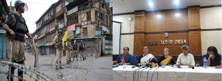 कश्मीर में 51 दिन में 13 हज़ार बच्चे गायब : सामाजिक कार्यकर्ता फैक्ट फाइंडिंग टीम।