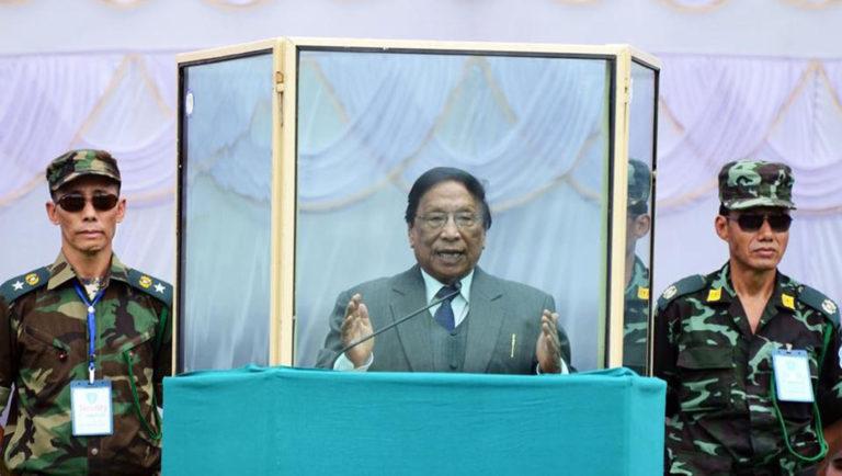 न हम कभी भारत का हिस्सा थे, ना ही कभी होंगे : नागा उग्रवादी संगठन(NSCN-IM) प्रमुख थुइंगालेंग मुइवा।