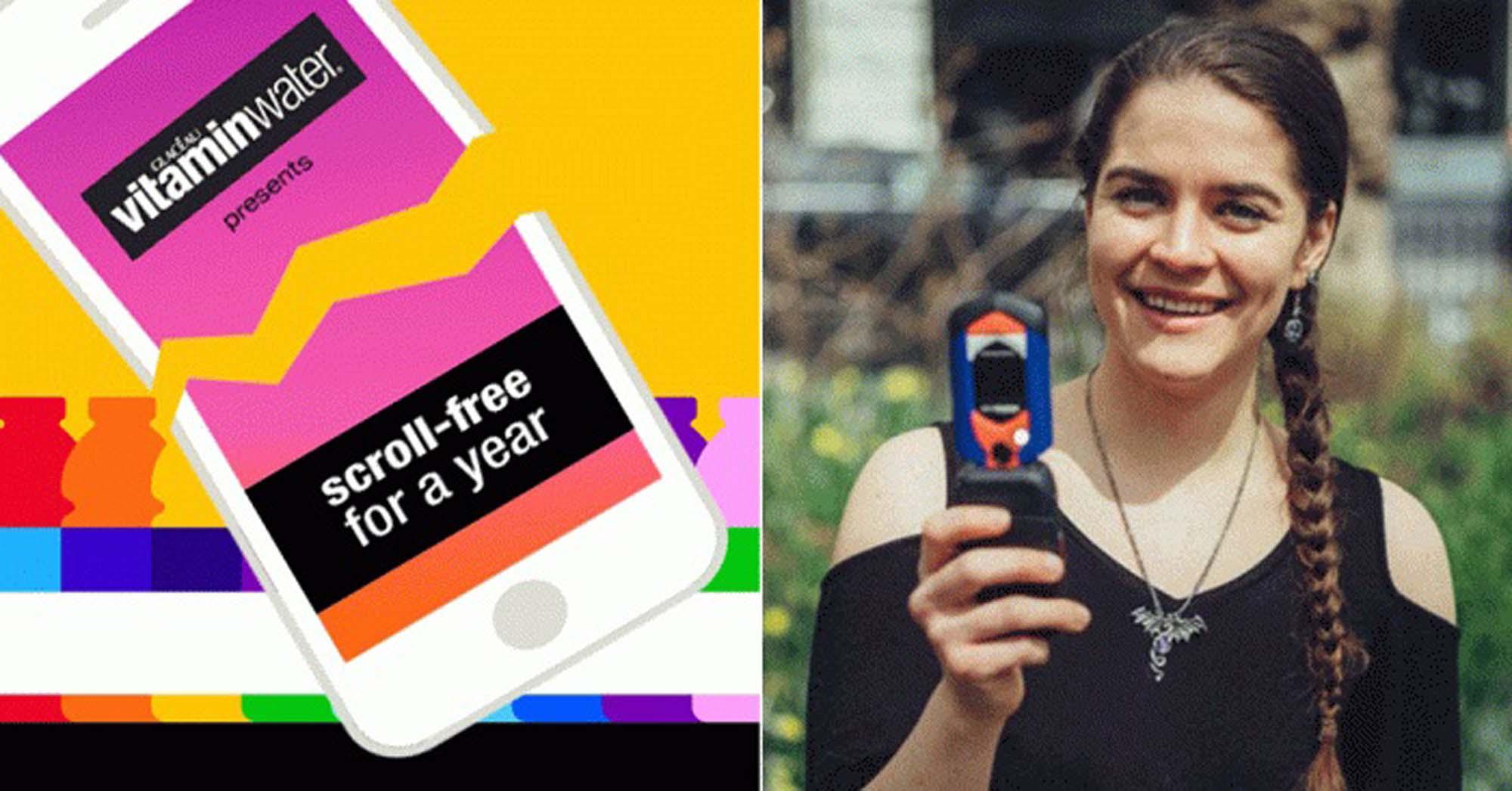 एक साल बिना स्मार्ट फ़ोन के रहने का चैलेंज पूरा कर ये महिला जीतने जा रही है पूरे 72 लाख रूपये।