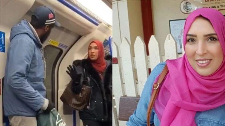 लंदन की ट्रेन में एक यहूदी परिवार के साथ हो रहे धार्मिक दुर्व्यवहार को रोकने वाली मुस्लिम महिला असमा शेख की दुनिया में हो रही है तारीफ ।