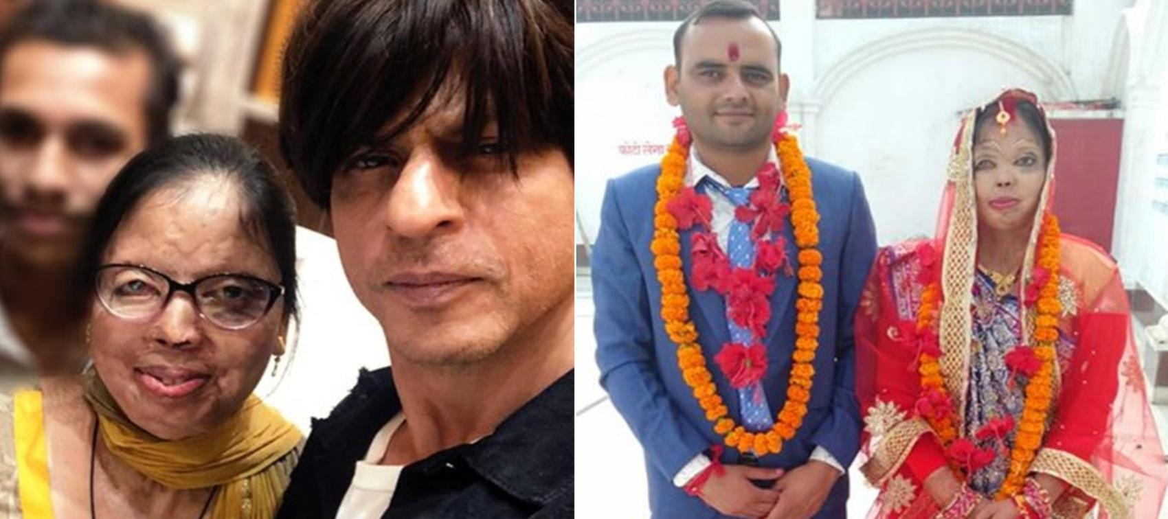 शाहरुख़ खान के एनजीओ मीर फाउंडेशन ने तेज़ाब पीड़िता की ज़िन्दगी में भरी खुशियां।