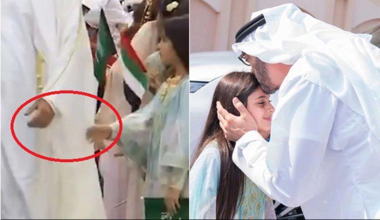 जब अबू धाबी के क्राउन प्रिंस ने एक बच्ची के घर जाकर उसकी तमन्ना पूरी कर सबका दिल जीत लिया, देखें वीडियो।