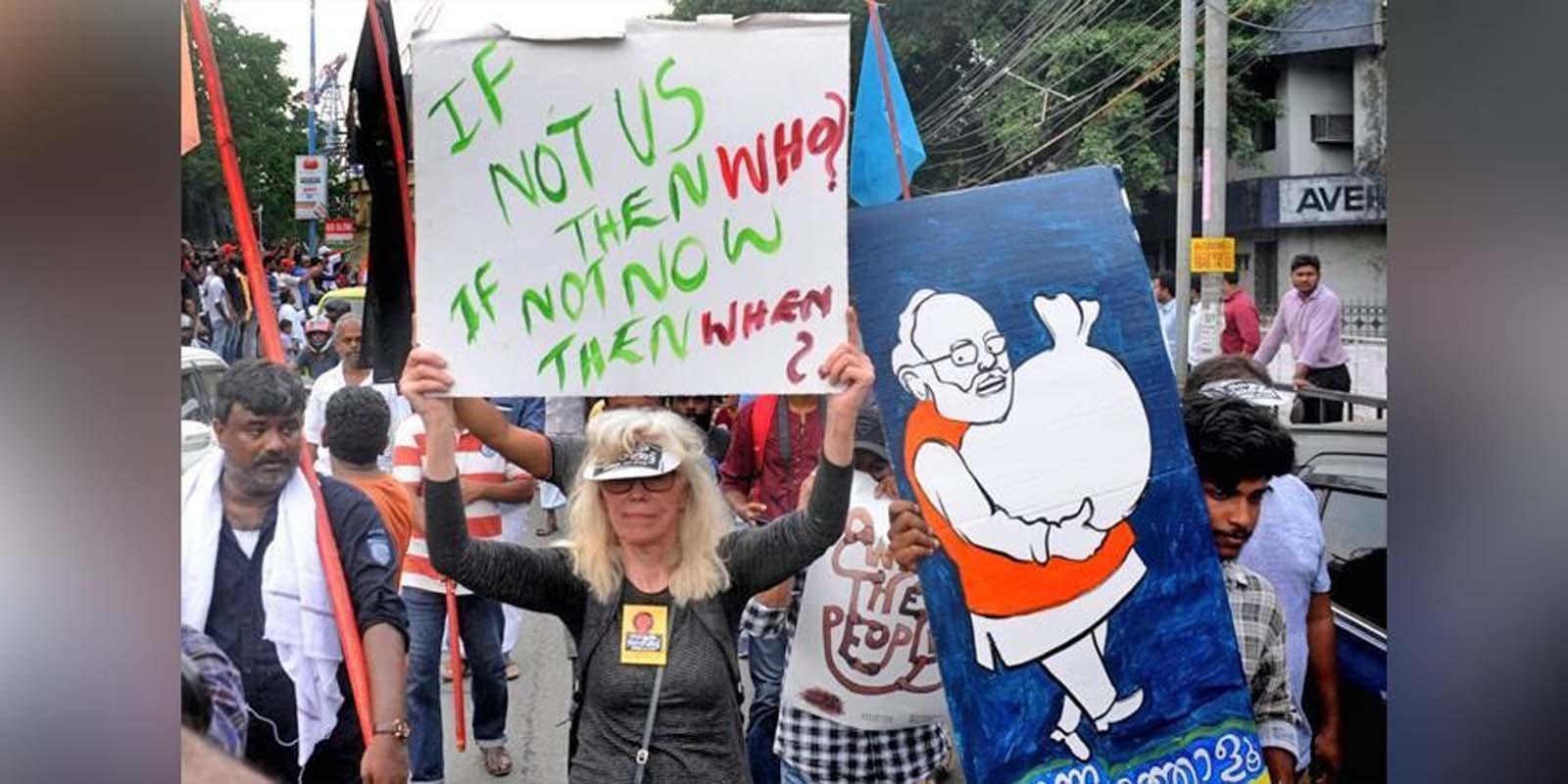 CAA विरोध प्रदर्शन : जर्मन छात्र के बाद अब नार्वे की महिला पर्यटक को भारत छोड़ने के आदेश।