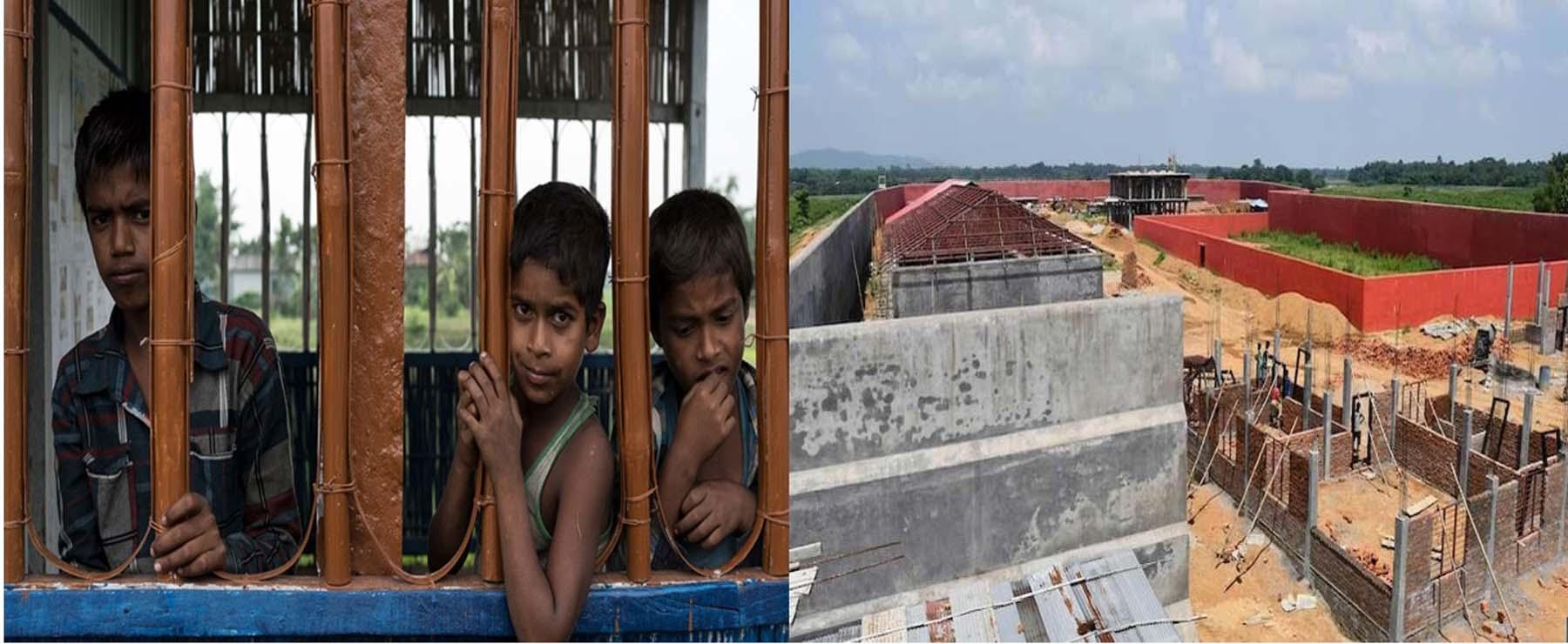 असम NRC : 60 बच्चों को डिटेंशन सेंटर भेजने पर सुप्रीम कोर्ट की रोक।