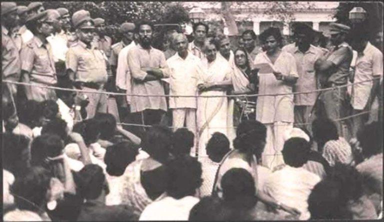 जब JNU के छात्रों ने इंदिरा गाँधी को JNU कुलपति पद से इस्तीफ़ा देने को मजबूर किया।