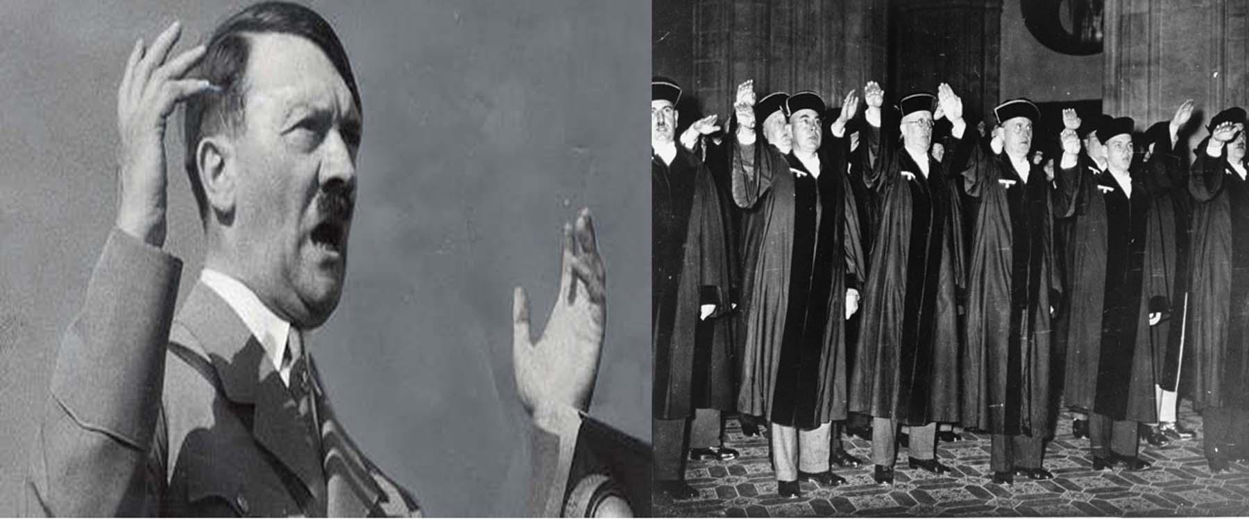 राजनैतिक विरोध को नष्ट करने में न्यायपालिका ने हिटलर और स्टालिन की कैसे मदद की।