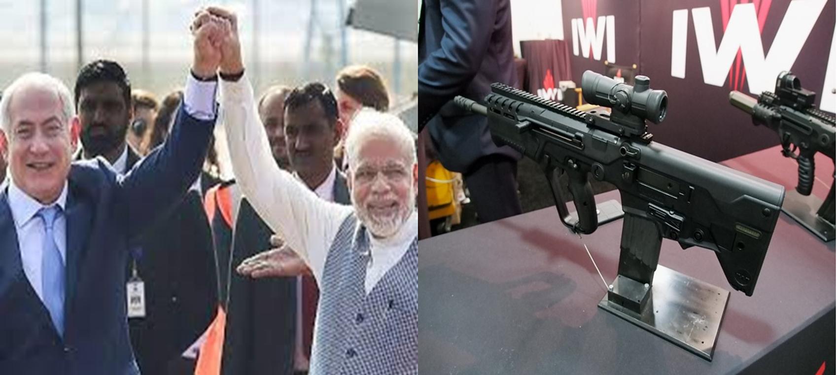 कोरोना महामारी के बीच भारत का इज़राइल के साथ 880 करोड़ के हथियारों का सौदा।