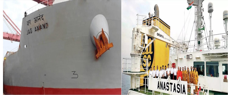 चीन ने महीनों से रोके हुए हैं दो भारतीय कार्गो जहाज़ और उसके 39 भारतीय कर्मचारी।